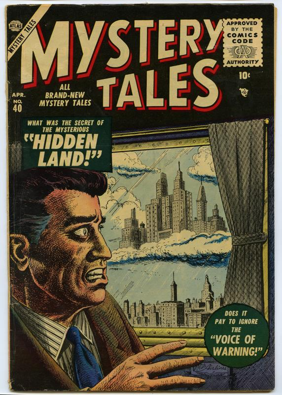 Mystery Tales, no. 40