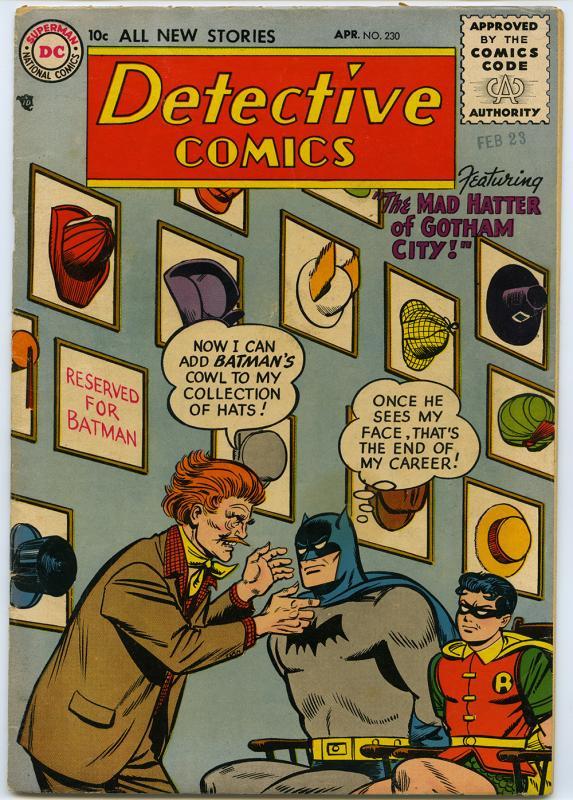 Detective Comics, no. 230