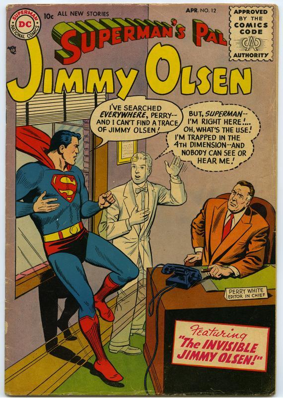 Superman's Pal Jimmy Olsen, no. 12