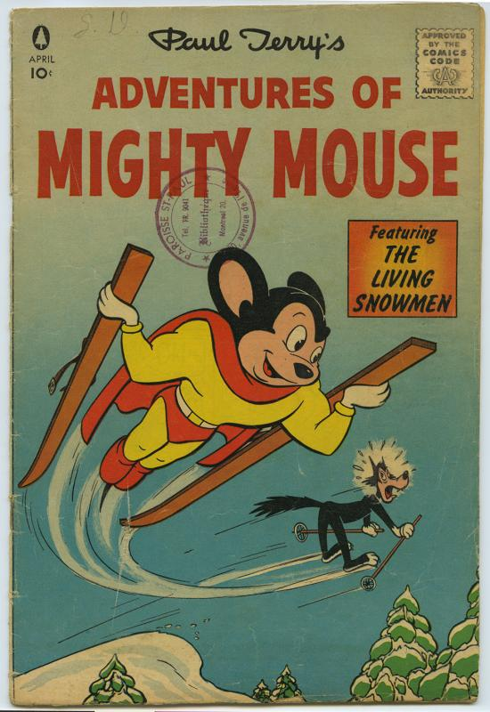 Paul Terry's Adventures of Mighty Mouse, no. 129