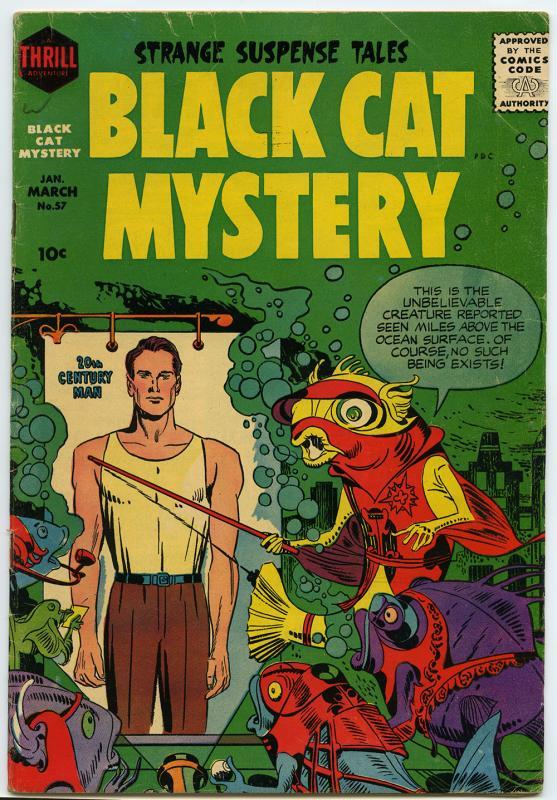 Black Cat Mystery, no. 57