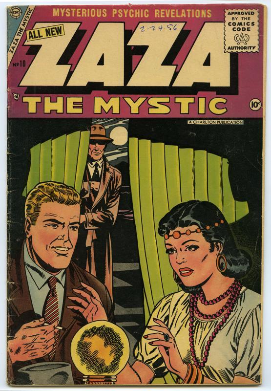 Zaza the Mystic, no. 10