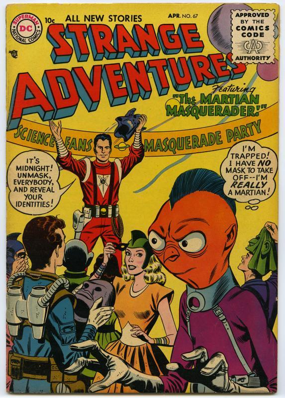 Strange Adventures, no. 67