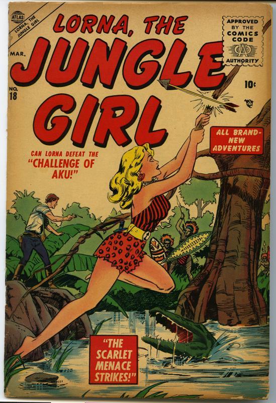 Lorna, the Jungle Girl, no. 18