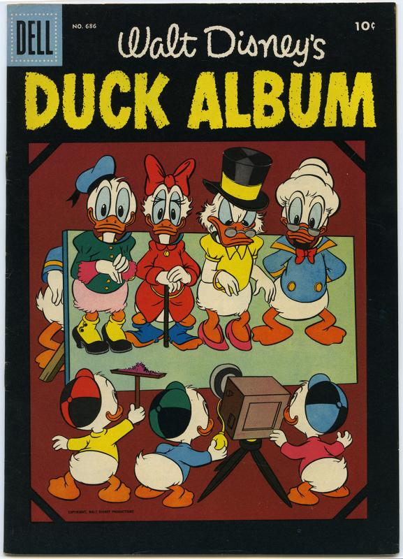 Walt Disney's Duck Album, no. 686